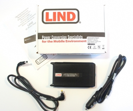 Lind CF-LND1224A Panasonic Toughbook 12-32 Vdc Car Charger - New